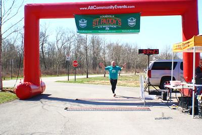 Louisville St. Paddy's Day 5k/Half Marathon
