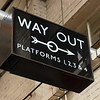Way Out Sign