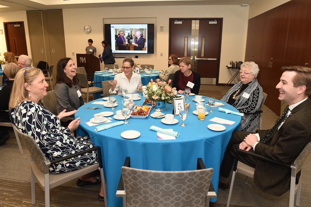 Northwestern Lake Forest Hospital Volunteer Recogniton Awards Breakfast, April 19, 2018