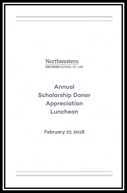 2018 Scholarship Donor Appreciation Luncheon, February 27, 2018