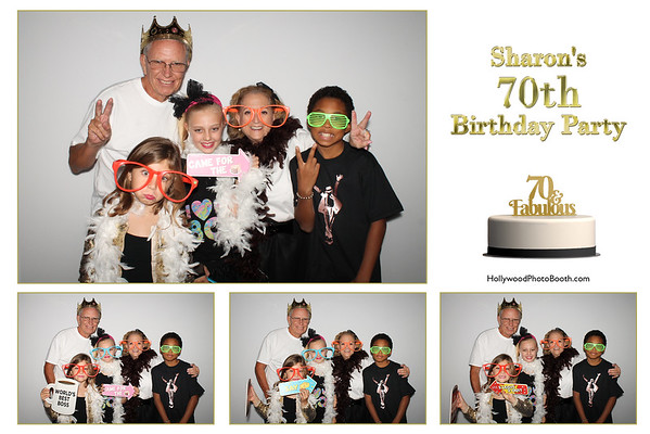 Sharon's 70th Birthday Party - 8/4/2018