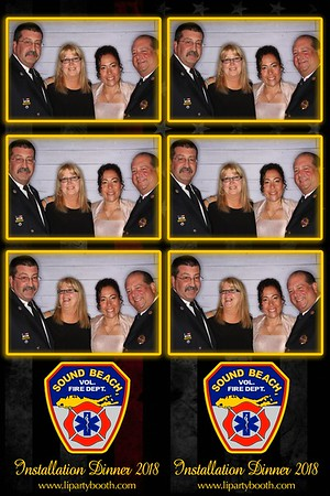 Sound Beach Fire Department Installation Dinner
