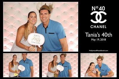 Tania's 40th