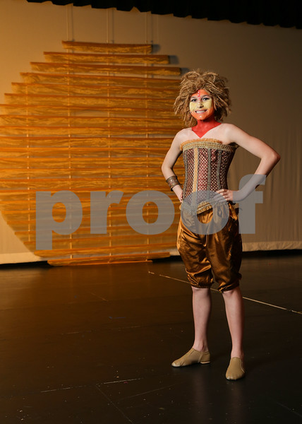 Traughber Jr High Lion King