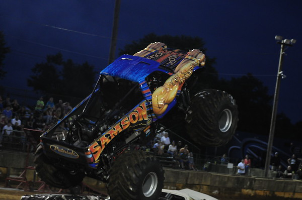 2018 FREDERICK CO FAIR MONSTER TRUCKS & FREESTYLE MOTORCROSS 7-31-18