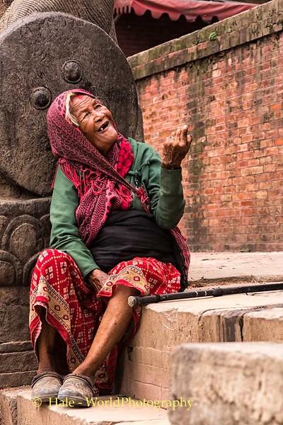 Durbar Square Beggar I