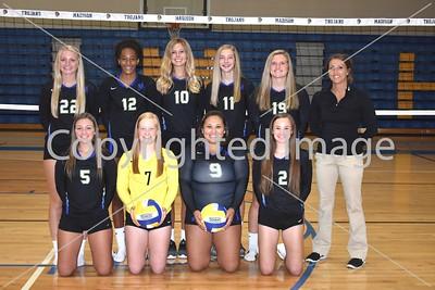 Madison Varsity Volleyball Team Photo