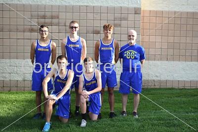 Madison Men Varsity Cross Country Team Photo