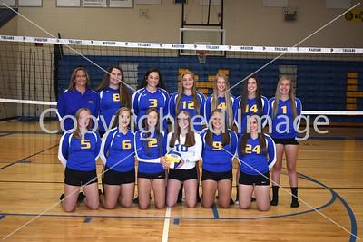 Madison JV Volleyball Team Photo