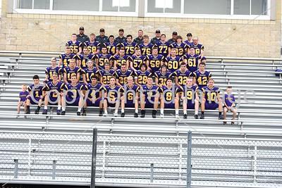 Blissfield Varsity Football Team Photo