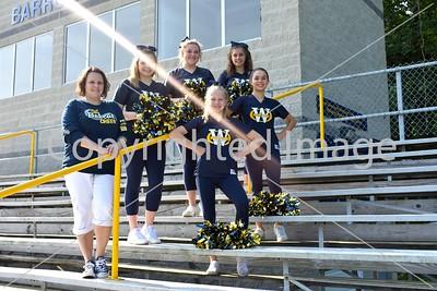 WHS JV Sideline Cheer Team Photo
