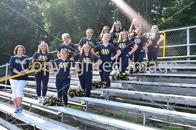 WHS Varsity Sideline Cheer Team Photo