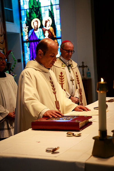 2018 Father Cely Installation