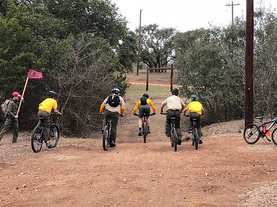 2018 Biking at Reveille Peak Ranch