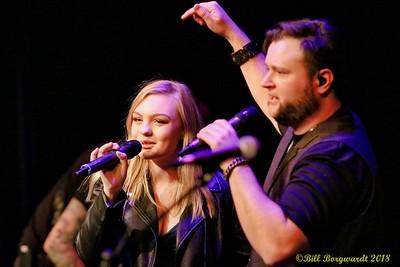 Olivia Rose & Chris Buck at McLab 185