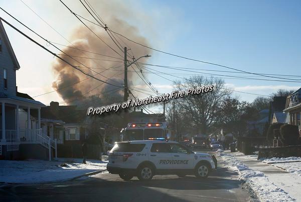 Providence- 2nd Alarm- Enfield Street- 01/18/2018