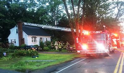 55 Pleasant Street, Millis - Working Fire: July 11, 2018