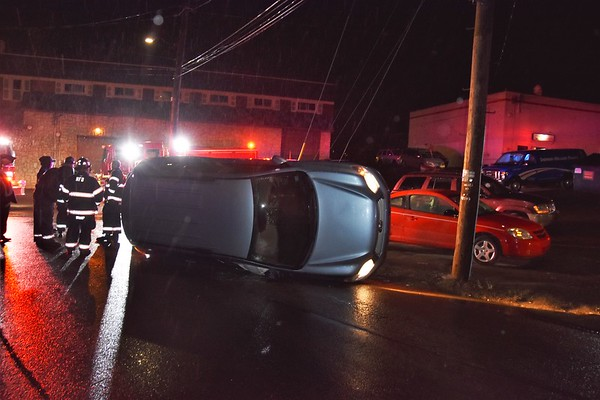 Hazleton City 139 mva rollover Maple @ Lincoln 4-24-18