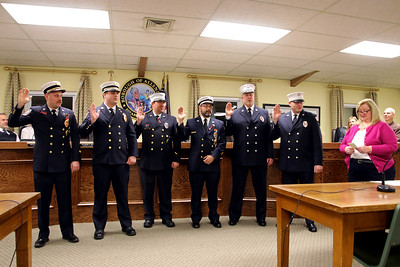 Allendale 2018 Fire Officers