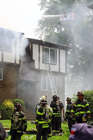 New Milford 3rd alarm + Condo Fire 7-29-18