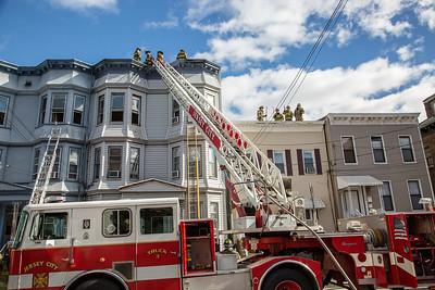 Jersey City NJ 4th alarm, 1004 Summit Ave  10-21-18 - PADPhotography