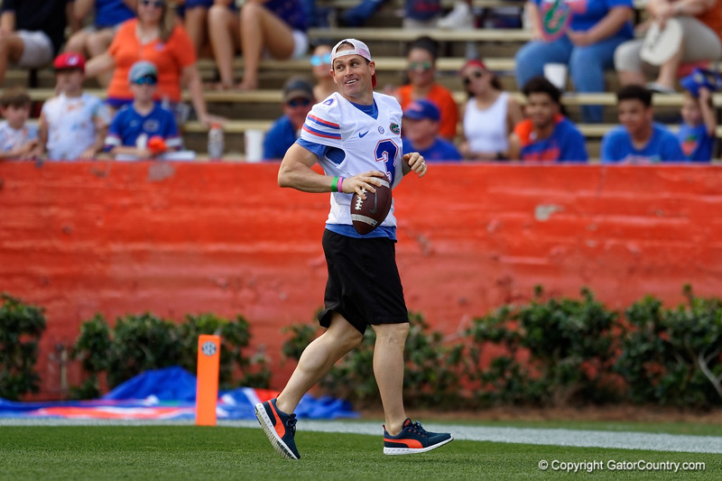 Florida Gators Football 2018 Orange and Blue Debut