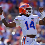 Photos from the sidelines as the Florida Gators compete in the annual Orange and Blue Game to end the spring season.  April 14th, 2018.  Gator Country photo by David Bowie.