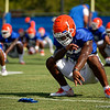 Florida Gators Football Fall Practice 2018
