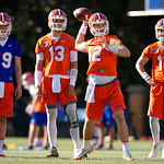 University of Florida Gators athlete Nick Sproles as the Gators run drills during the first day 2018 spring practices at Sanders Field at the Universitu of Florida.  March 16th, 2018.  Gator Country photo by David Bowie.