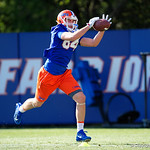 University of Florida Gators athlete Trey Thompson as the Gators run drills during the first day 2018 spring practices at Sanders Field at the Universitu of Florida.  March 16th, 2018.  Gator Country photo by David Bowie.