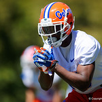 University of Florida Gators athlete Amari Burney as the Gators run drills during the second day of 2018 spring practices at Sanders Field at the University of Florida.  March 17th, 2018.  Gator Country photo by David Bowie.