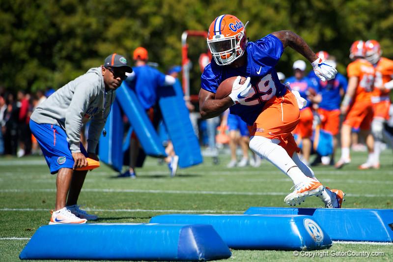 University of Florida Gators Football Spring Practice 2018