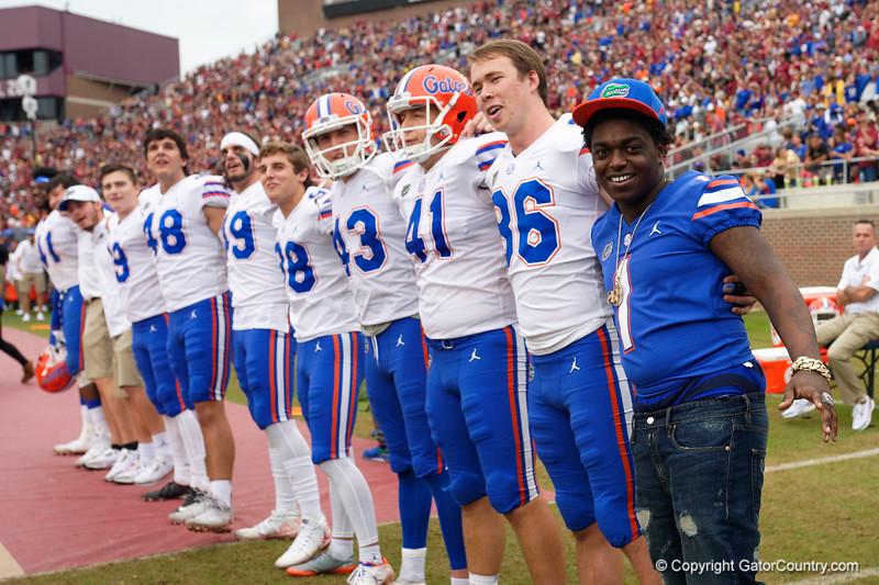 University of Florida Gators Football Gator Walk FSU 2018