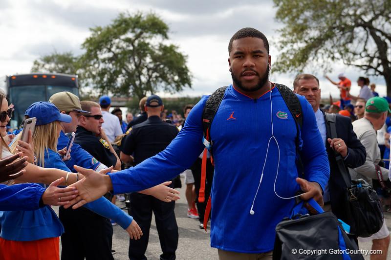 University of Florida Gators Football Gator Walk Georgia Bulldogs 2018