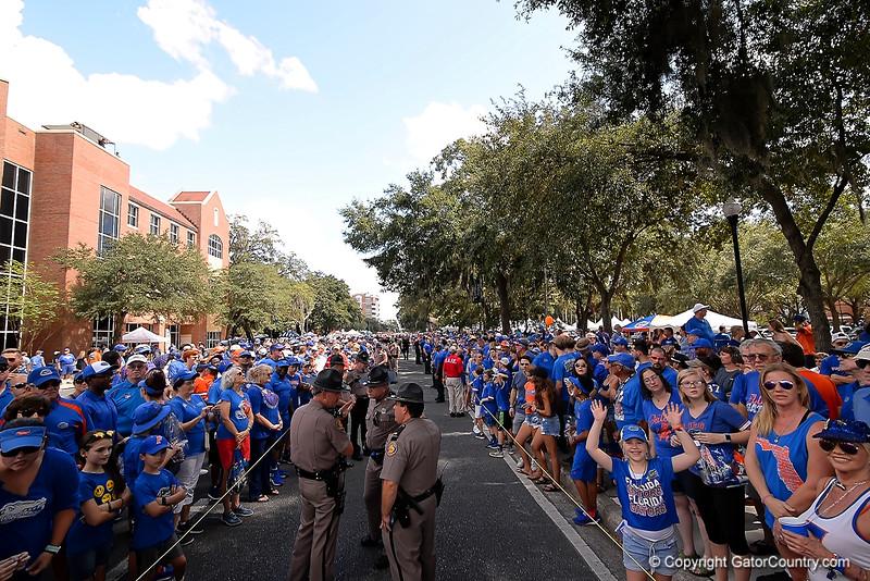 Florida Gators Football Gator Walk 2018 LSU Tigers