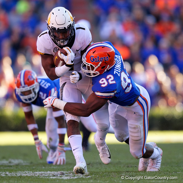 Florida Gators 2018 Missouri Tigers