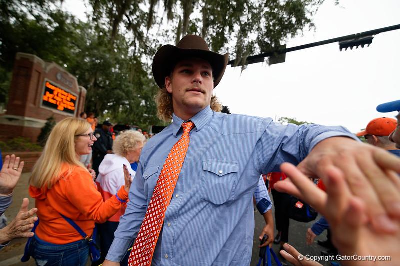 Florida Gators Football Gator Walk 2018 South Carolina Gamecocks