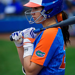 University of Florida Gators Softball infielder Nicole DeWitt as the Gators defeat the #8 Texas A&M Aggies 7-3 to complete the sweep at Katie Seashole Pressly Softball Stadium in Gainesville, Florida.  March 26th, 2018. Gator Country photo by David Bowie.