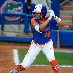 University of Florida Gators Softball infielder Jordan Matthews at the plate as the Gators defeat the #8 Texas A&M Aggies 7-3 to complete the sweep at Katie Seashole Pressly Softball Stadium in Gainesville, Florida.  March 26th, 2018. Gator Country photo by David Bowie.