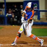 University of Florida Gators Softball infielder Jordan Matthews as the Gators defeat the #8 Texas A&M Aggies 7-3 to complete the sweep at Katie Seashole Pressly Softball Stadium in Gainesville, Florida.  March 26th, 2018. Gator Country photo by David Bowie.