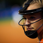 University of Florida Gators Softball pitcher Kelly Barnhill as the Gators defeat the #8 Texas A&M Aggies 7-3 to complete the sweep at Katie Seashole Pressly Softball Stadium in Gainesville, Florida.  March 26th, 2018. Gator Country photo by David Bowie.