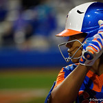University of Florida Gators Softball pitcher Aleshia Ocasio as the Gators defeat the #8 Texas A&M Aggies 7-3 to complete the sweep at Katie Seashole Pressly Softball Stadium in Gainesville, Florida.  March 26th, 2018. Gator Country photo by David Bowie.