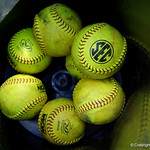 SEC softballs as the Gators defeat the Maryland Terrapins 12-0 at Katie Seashole Pressly Softball Stadium in Gainesville, Florida.  February 24th, 2018. Gator Country photo by David Bowie.