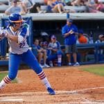University of Florida Gators Softball C/1B Janell Wheaton at the plate as the Gators defeat the Maryland Terrapins 12-0 at Katie Seashole Pressly Softball Stadium in Gainesville, Florida.  February 24th, 2018. Gator Country photo by David Bowie.