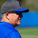 University of Florida Gators Softball head coach Tim Walton as the Gators defeat the Maryland Terrapins 12-0 at Katie Seashole Pressly Softball Stadium in Gainesville, Florida.  February 24th, 2018. Gator Country photo by David Bowie.