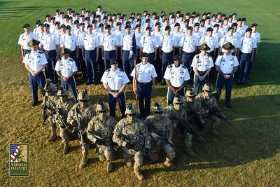 5-11-18 B/2-54, A/1-50 & D/2-58 Graduation Ceremony