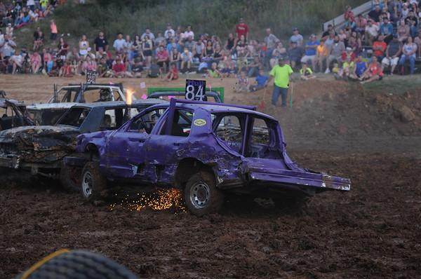 "2018 Franklin County Fair "" Demo Derby""  7-14-18"