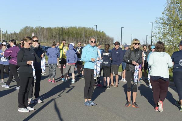 Friday 1 mile Finishers and Awards
