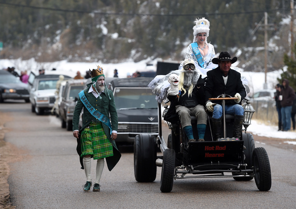 . The parade starts in downtown Nederland on Saturday during 2018 Frozen Dead Guy Days in Nederland. The festival continues on Sunday. For more photos, go to dailycamera.com. Cliff Grassmick  Photographer  March 10, 2018