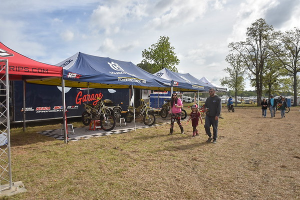 2018 GNCC Rd 5 Camp Coker AM Bikes